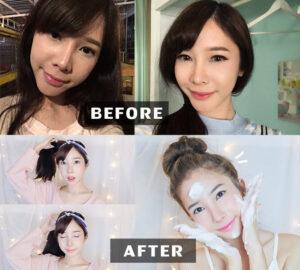 Makeover ศัลยกรรมเกาหลี กับ Beauty-Blogger ภาพพิมพ์