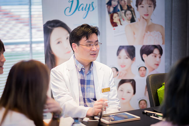 สรุปงานปรึกษาศัลยกรรมหมอเกาหลี Dr.Ann tae joo ครั้งที่ 7
