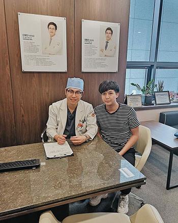 ปรึกษากับ Dr kim ก่อนผ่าตัด