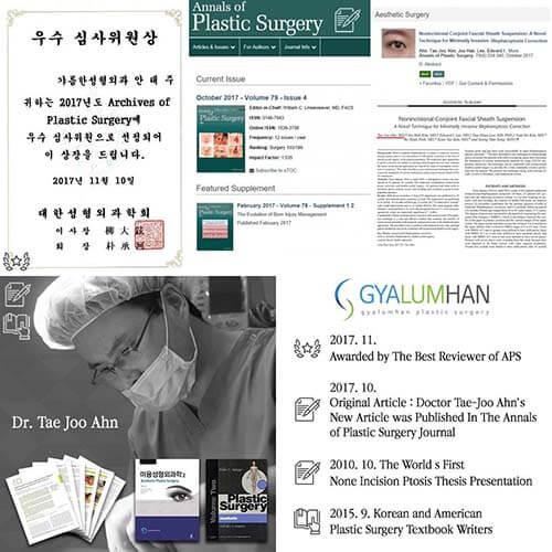 Ahn Tae Joo กับผลงานวิชาการด้านศัลยกรรม