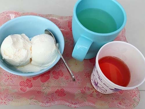กินไอศกรีม หลังทานอาหาร