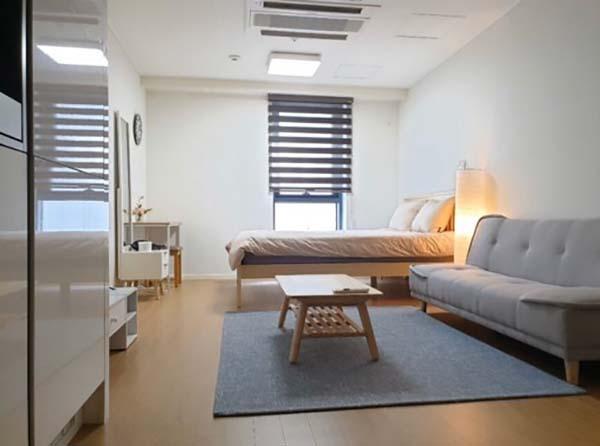 ห้องพักหลังผ่าตัดศัลยกรรมที่เกาหลี 2